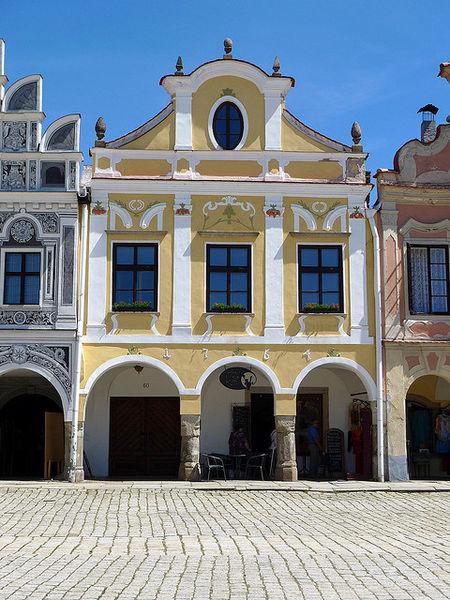 Сказочный городок Телч