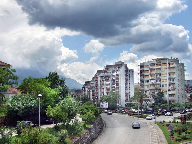 Курортный городок - Тиват
