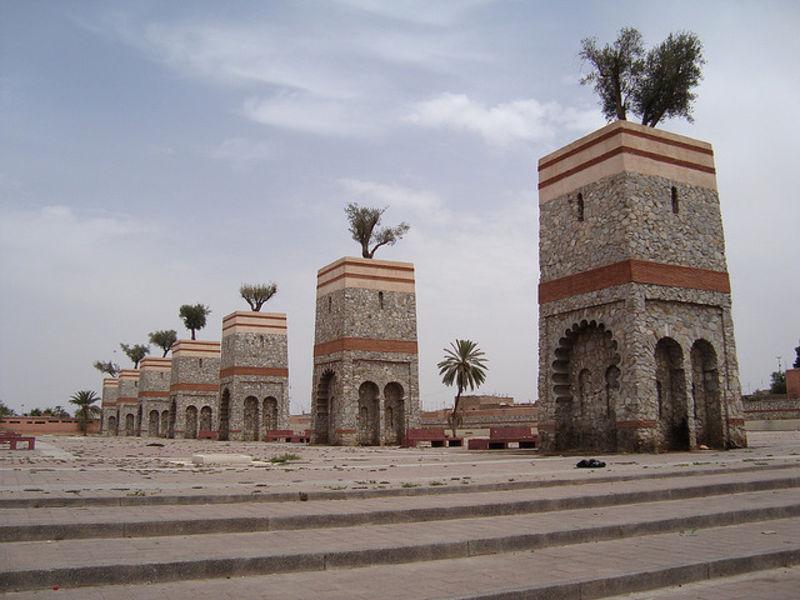 Город Марракеш и его богатства