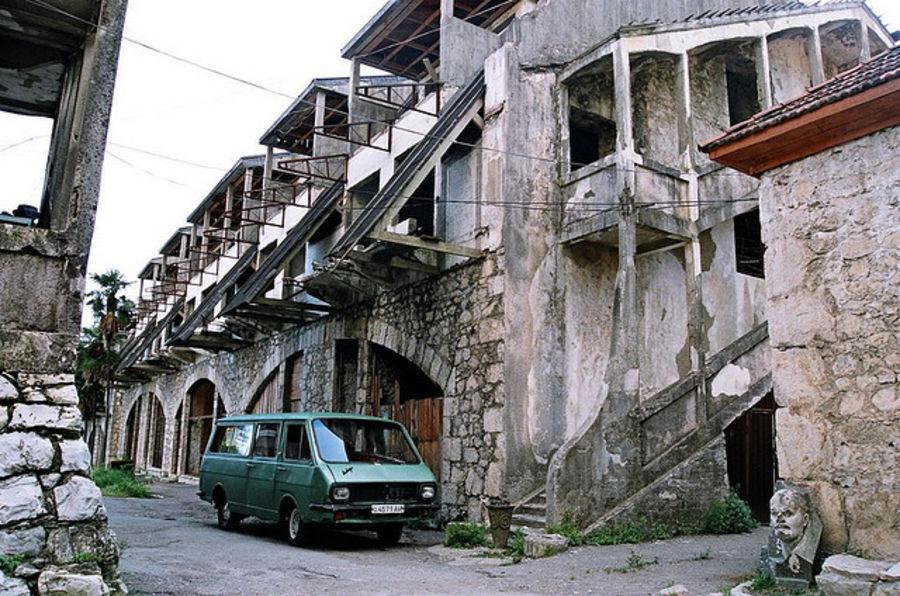 Живописный город - Гагра
