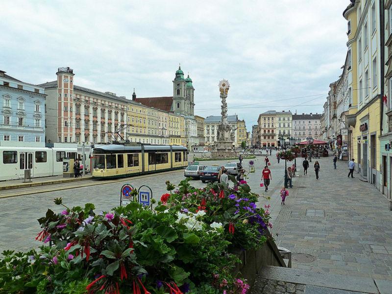 Провинциальный город Линц