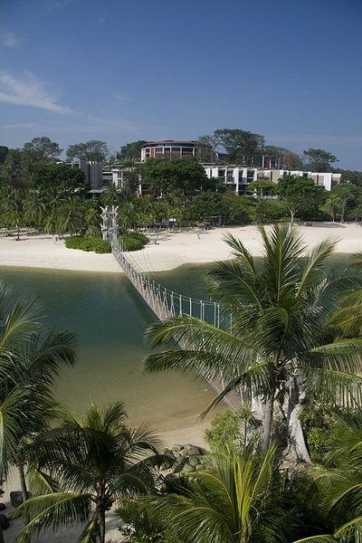 Сентоза – тропический рай Сингапура