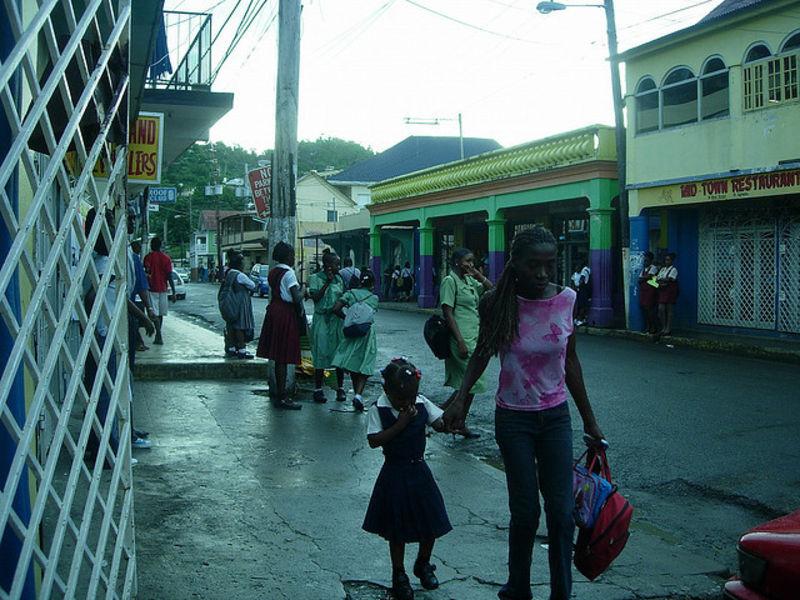 Уютный городок Порт-Антонио