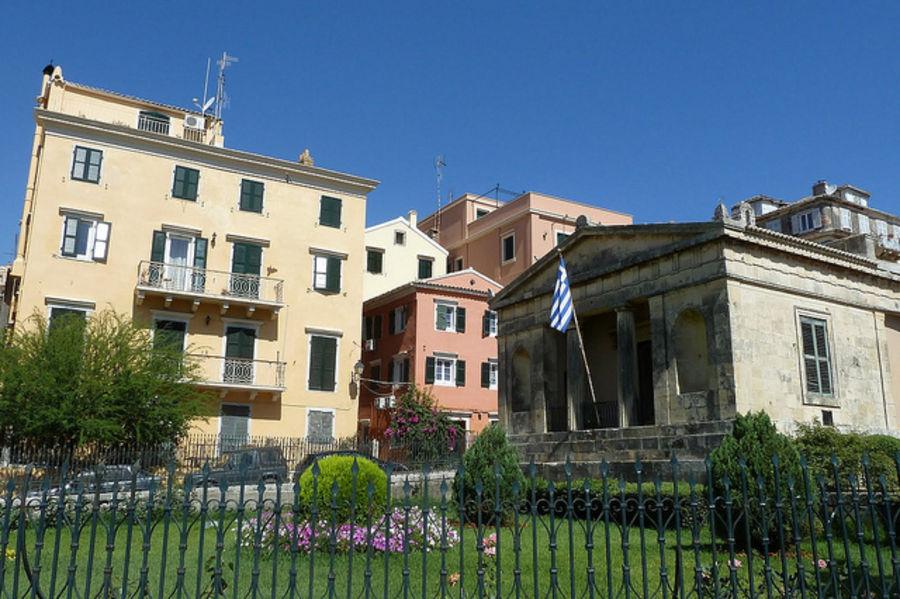 Путешествие в красивый город -  Керкиру