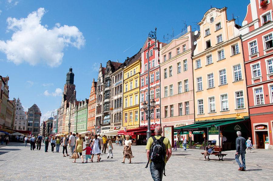 Притягательный город Вроцлав