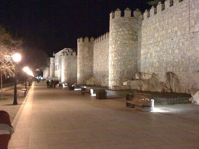 Романтический городок -Авила