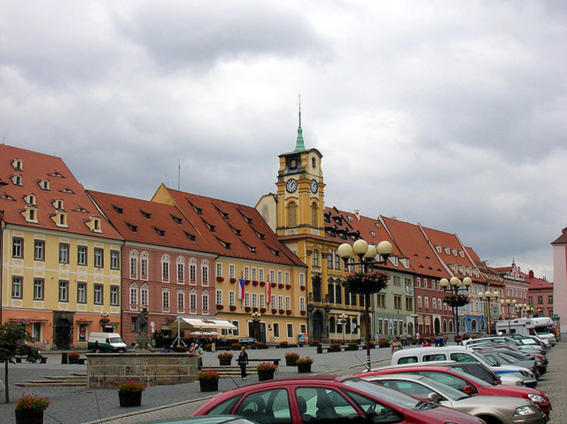 Чешский город Хеб