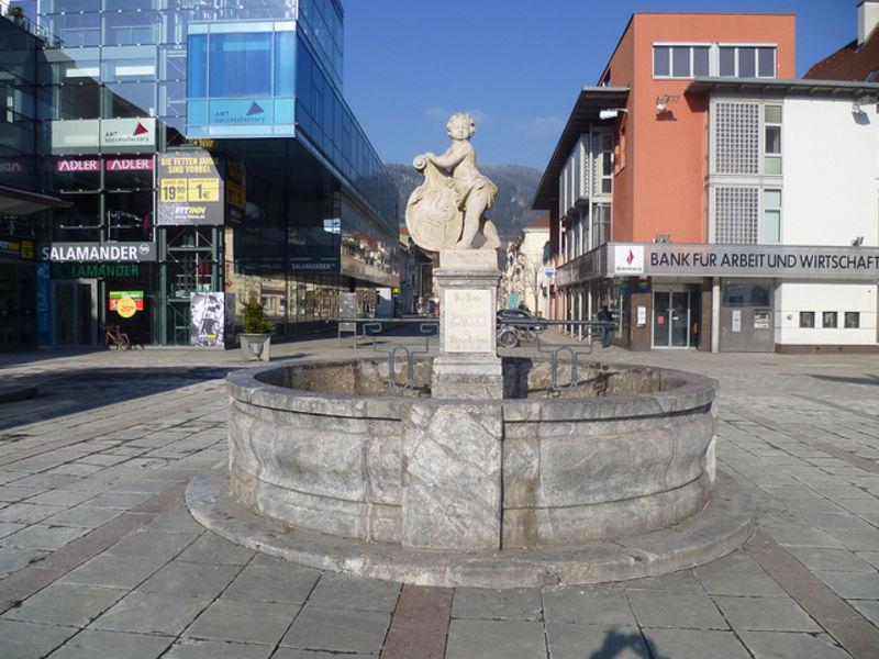 Уютный городок Леобен
