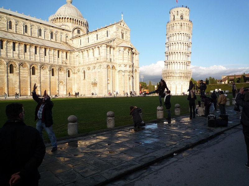 Удивительный отпуск в Пизе