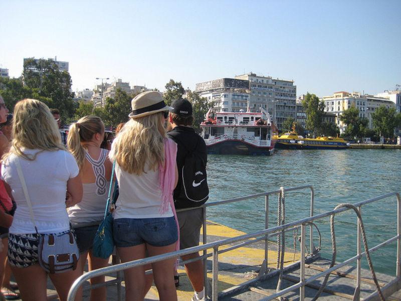 Пирей на Эгейском море