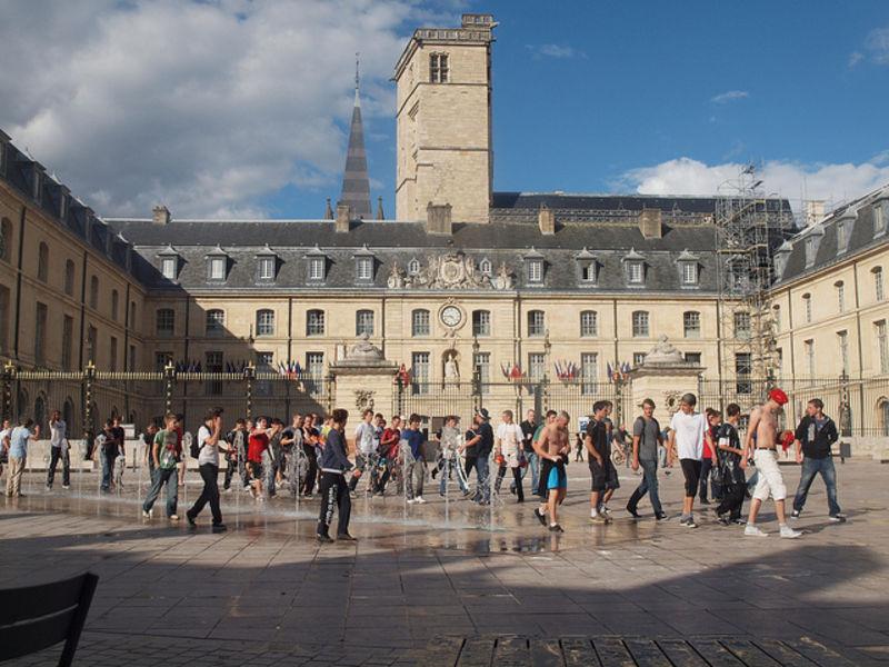 Французский город Дижон