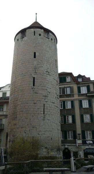 Башня Бэль-Эр и театр «Salle Métropole»
