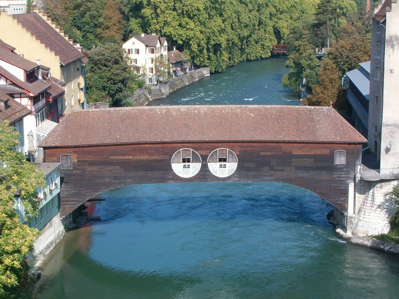 Деревянный мост Хольцбрюке