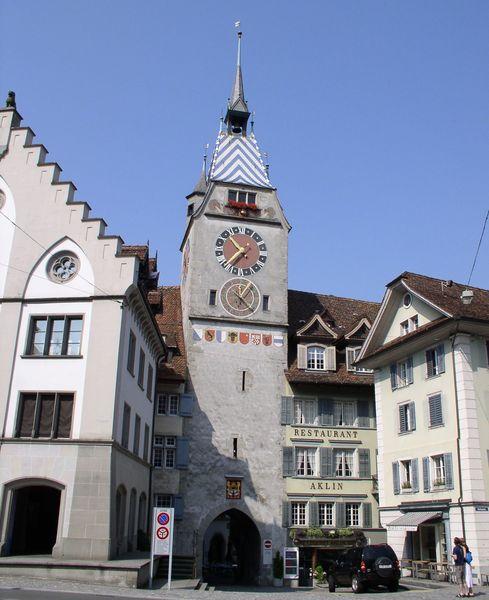 Часовая башня, Цуг