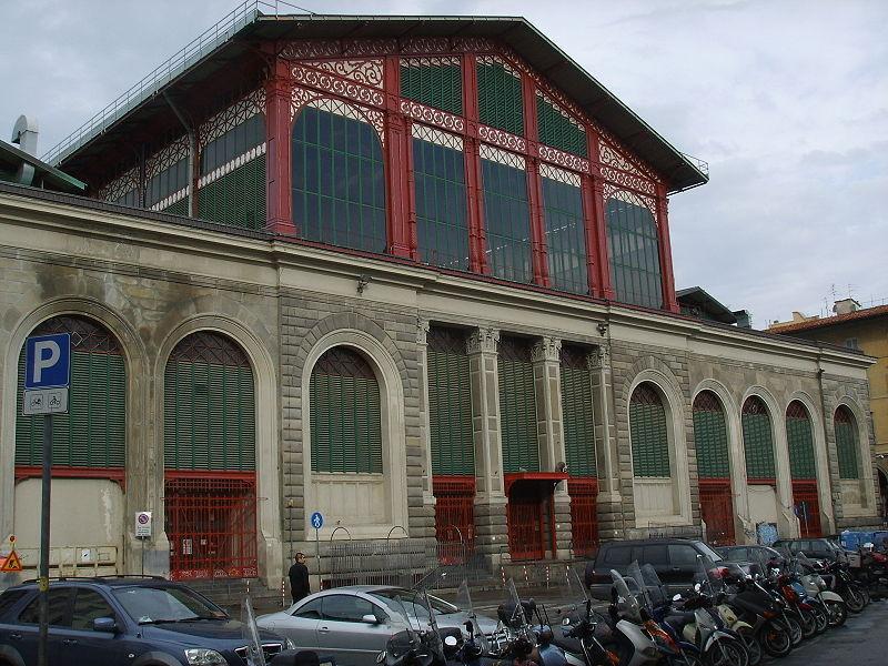 Центральный рынок, Флоренция
