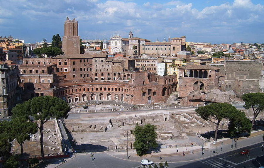 Форум и рынки Траяна