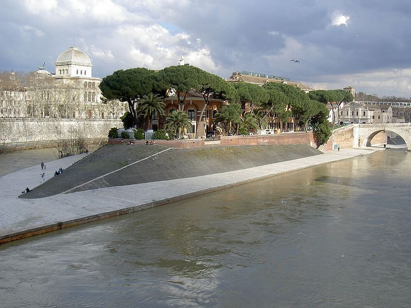 Гетто и остров Тиберина
