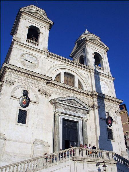 Площадь Испании и Испанская лестница