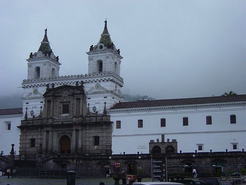Церковь Сан-Франсиско, Кито