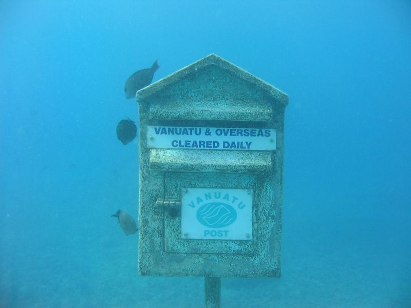 Подводное почтовое отделение