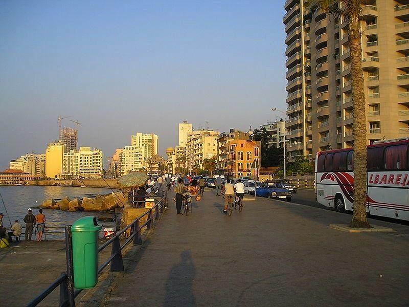 Набережная, Бейрут