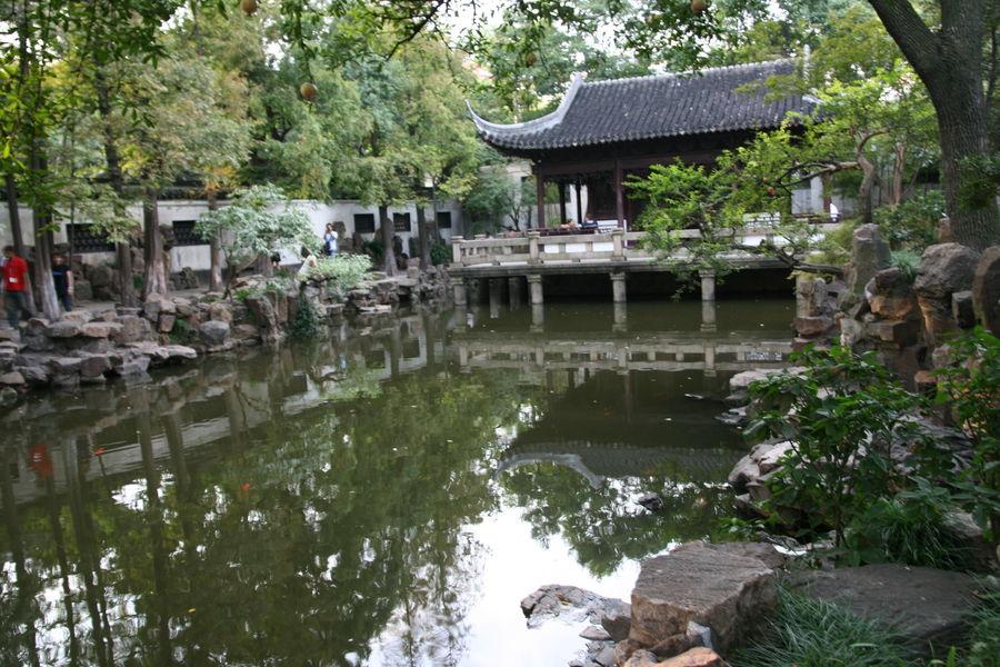 Шанхай: Храм нефритового Будды и сад Юйюань