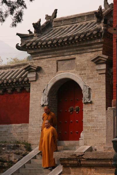 Экскурсия в храм Шаолинь