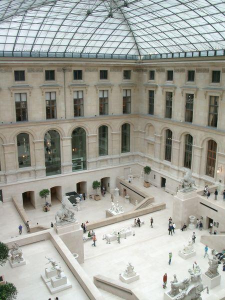 Посещение Лувра
