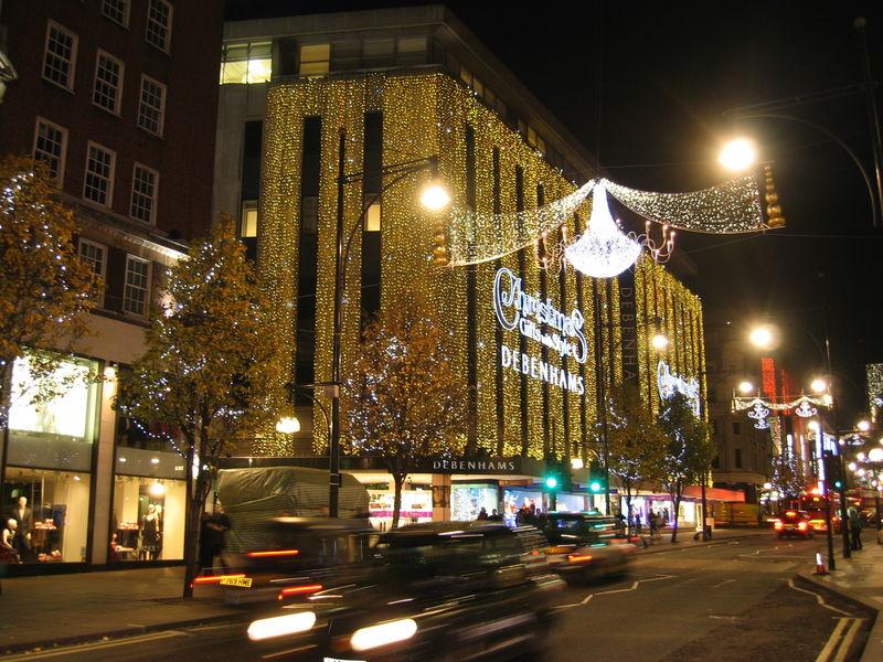 Лондон в ожидании Рождества