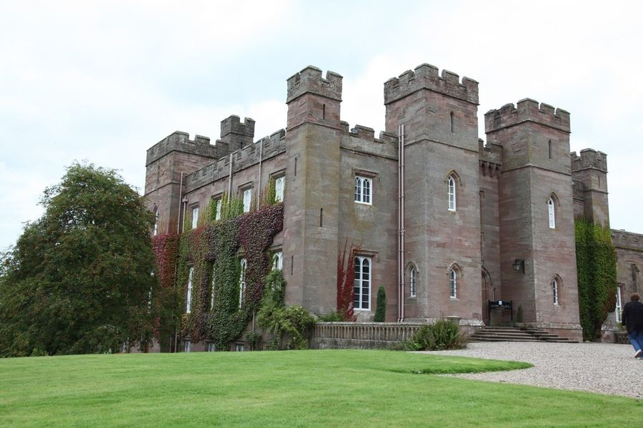 Шотландия. Замок Скоун