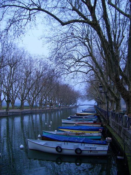 Французский городок Анси