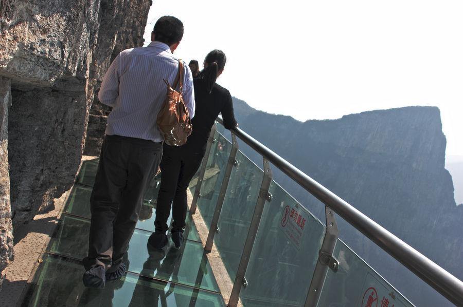 Смотровая площадка на горе Тианмен