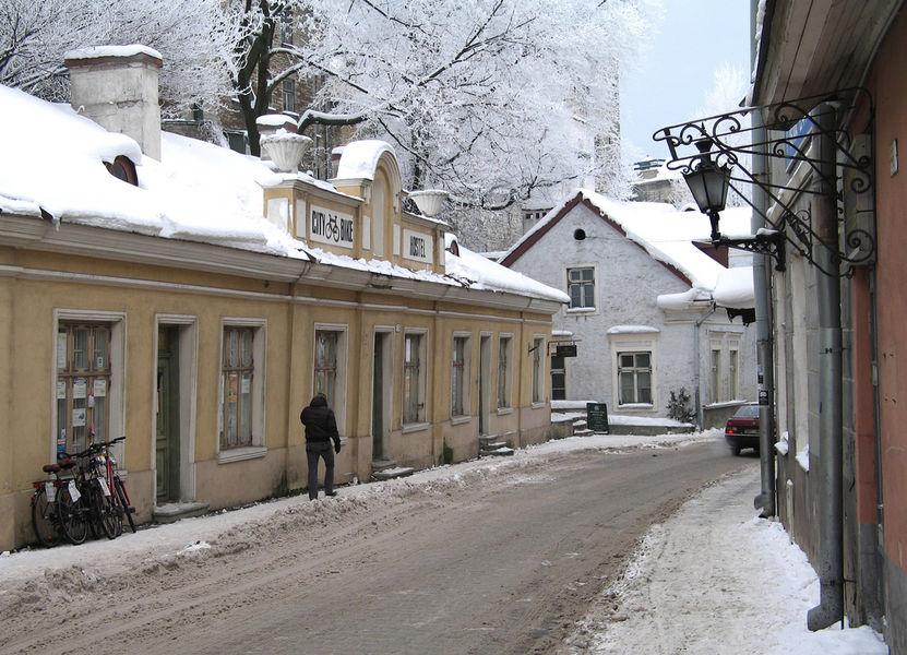 Зимний отпуск в Таллинне