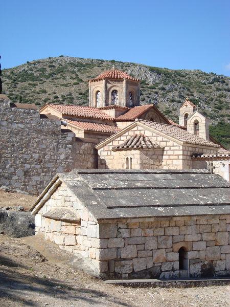 Монастырь Агия Мони