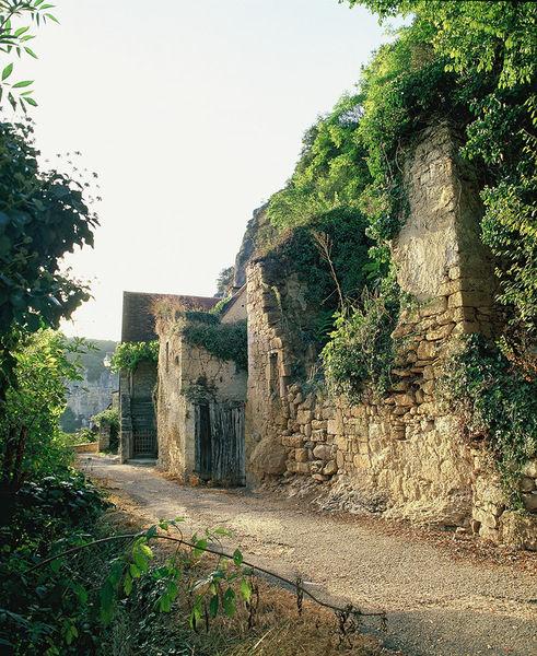 Французская деревушка Рок-Гажак (LA ROQUE GAGEAC)