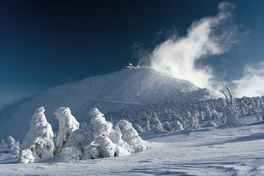 Метеорологическая станция на горе Снежка, Чехия