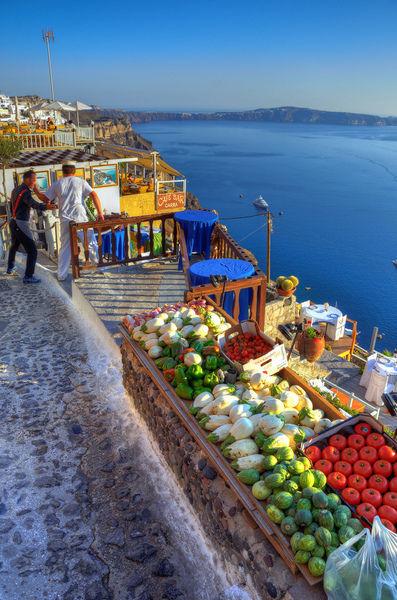Отдых на острове Санторини