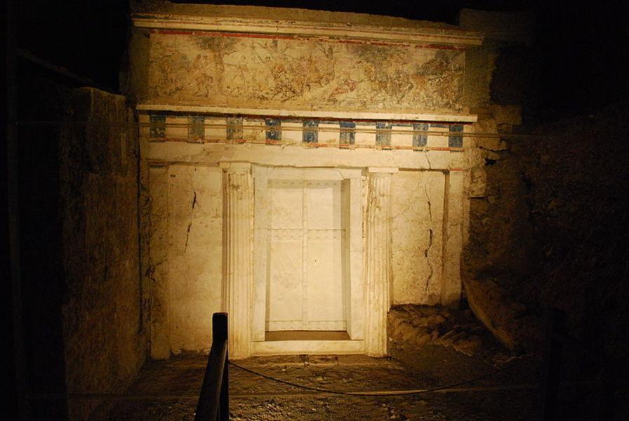 Руины города Эги