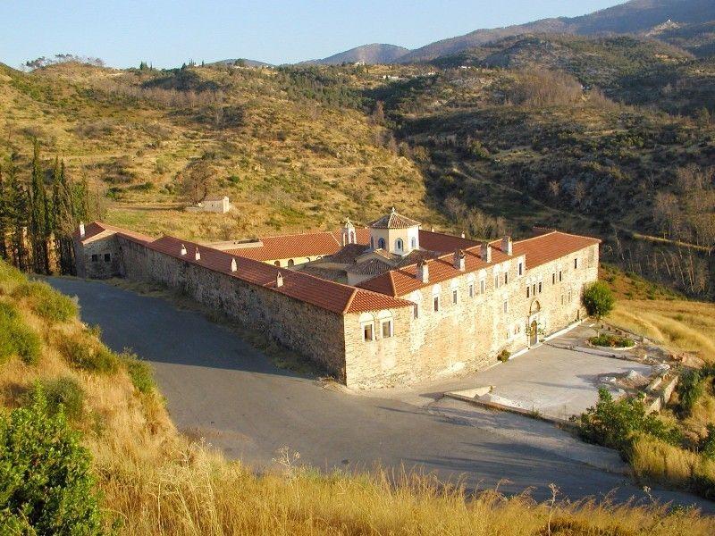 Богородицкий монастырь, Самос