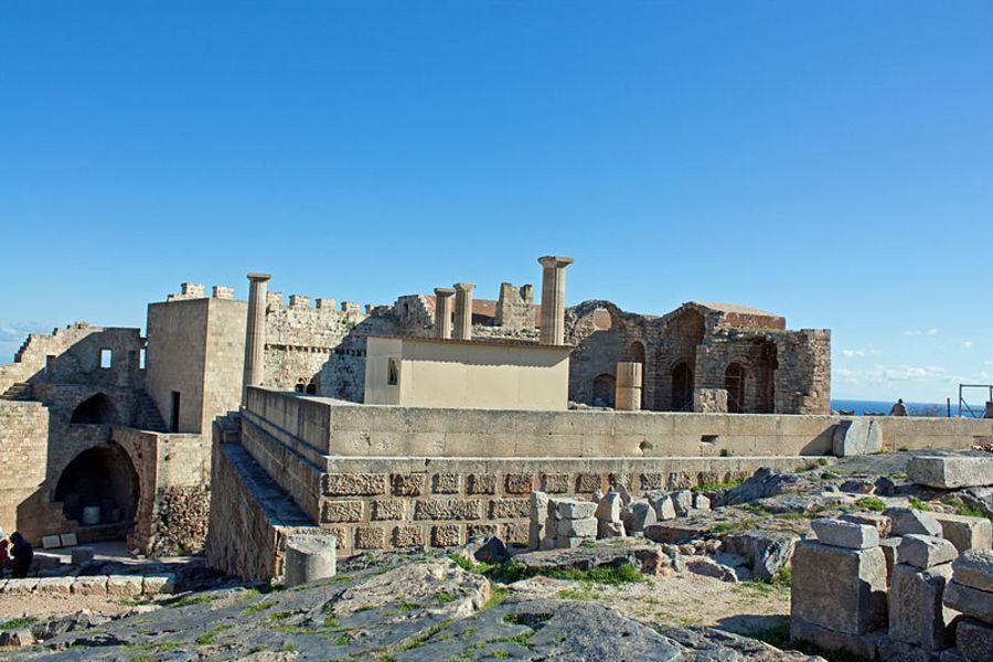 Линдосский Акрополь