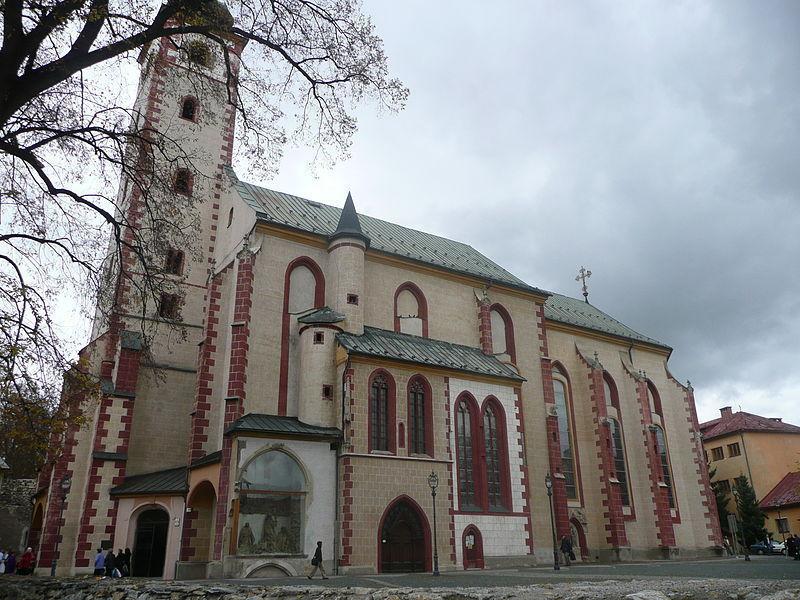 Храм Святого Креста, Банска-Быстрица