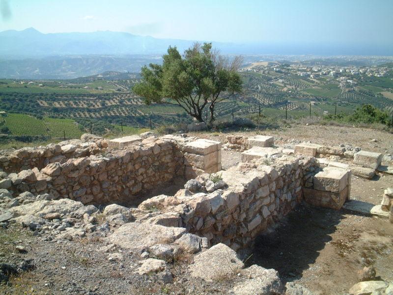 Минойское святилище
