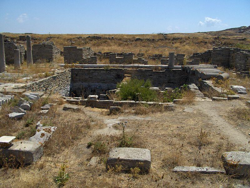 Археологическая зона острова Дилос