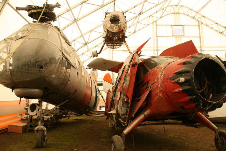 Музей истории авиации Аляски