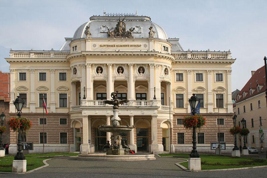 Словацкий национальный театр, Братислава