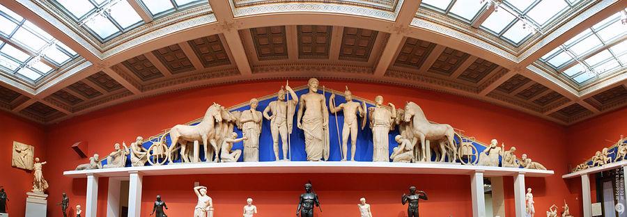 Панорамы залов, музей изобразительных искусств им.Пушкина, Москва