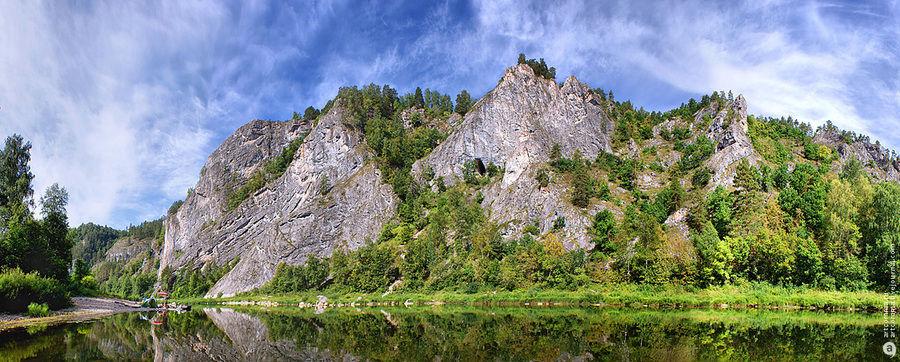 Река Белая (Агидель), Аургазинский район, Башкортостан
