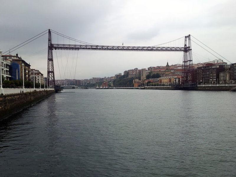 Бискайский мост (висячий мост)