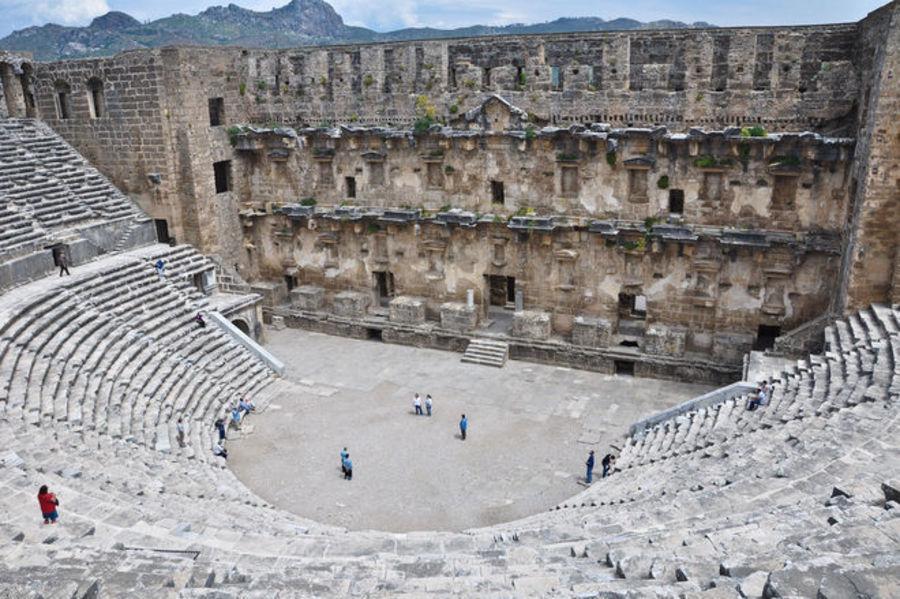 Античный театр Аспендоса