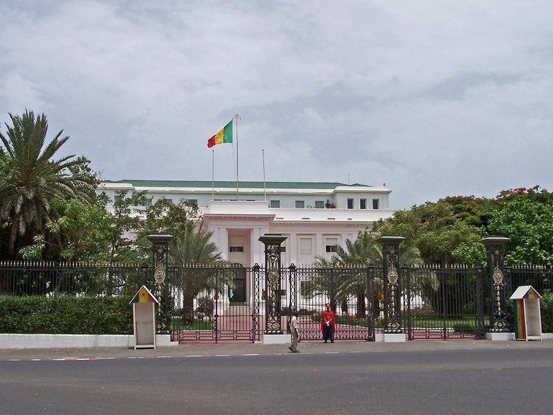 Президентский дворец, Дакар